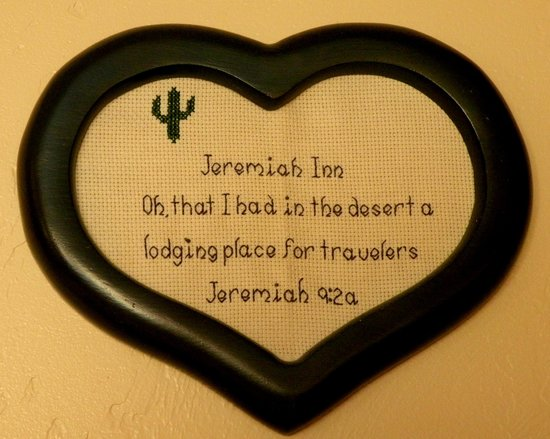 The Jeremiah Inn Bed and Breakfast: An Inn in the Desert