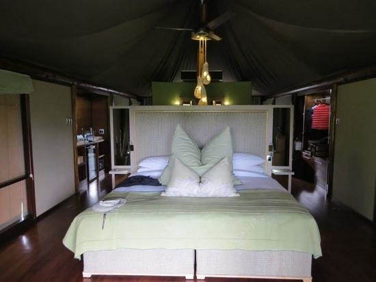 andBeyond Ngala Tented Camp : unser Zelt