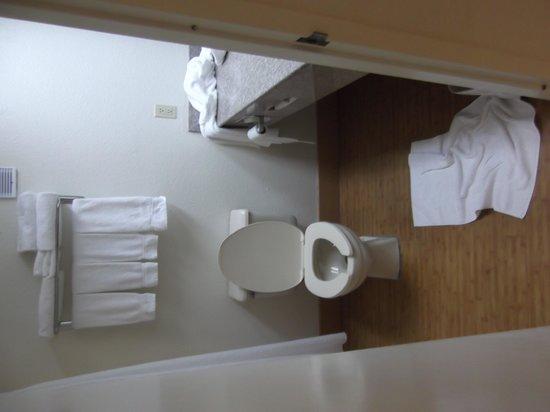 Holiday Inn Resort Panama City Beach: The toilet