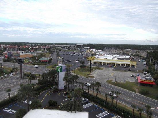 Holiday Inn Resort Panama City Beach: Looking inland