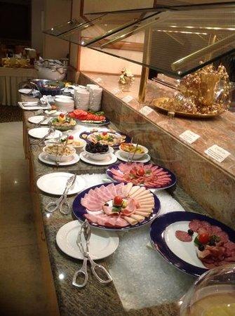Hotel Lev Ljubljana: some part of brekfast buffet.