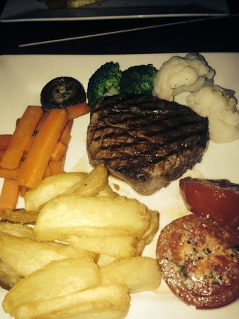 Sophia's: gorgeous fillet steak
