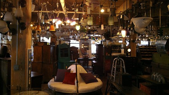 West End Architectural Salvage Coffee Shop