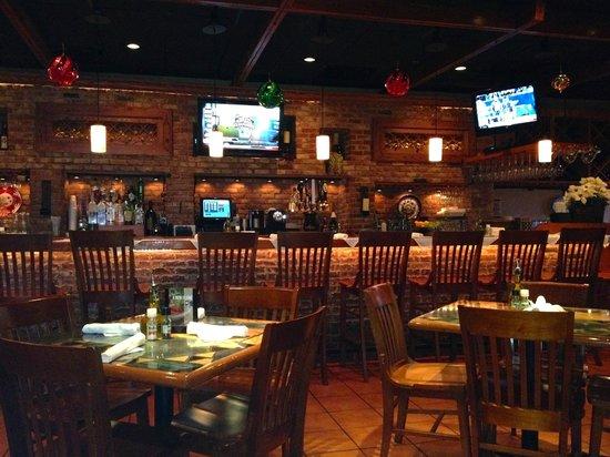 Carrabba S Italian Grill Interior Scene