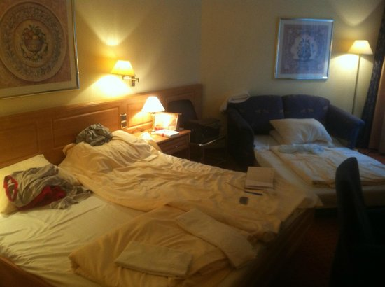 Zimmereingang Picture Of Conrad Hotel De Ville Munich Tripadvisor