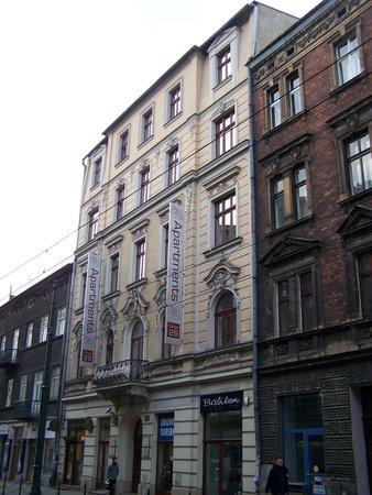 Aparthotel Pergamin Hotel: facciata esterna