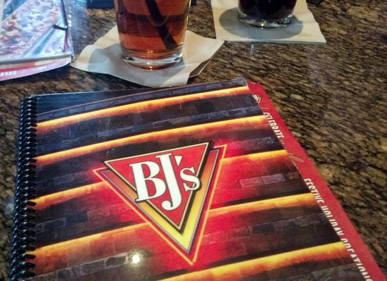 BJ's Restaurant & Brewhouse: B.J.'s vast menu