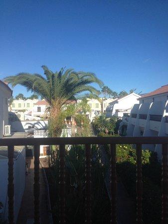 Bungalows Grimanesa: Вид с балкона