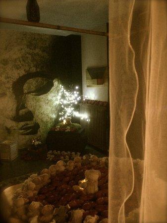 Bastide Le Temps des Secrets : Voilage, lumière tamisée...