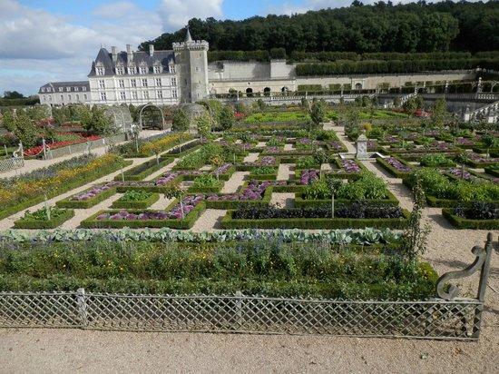 Chateau de Villandry: Jardines