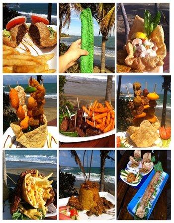 Guayama, Puerto Rico: Comidas - Foods