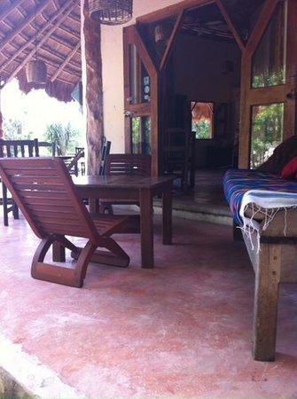 Hotel y Hostal El Punto: espace commun
