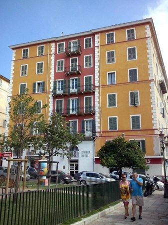 Hotel Riviera : Facciata Hotel