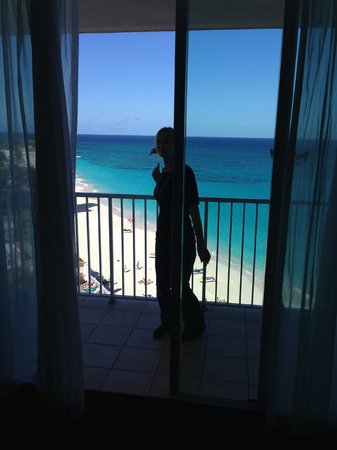 Hotel Riu Palace Paradise Island: View from our room