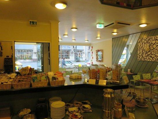 Monopol Hotel: Breakfast Room