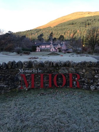 Monachyle Mhor : View from the road