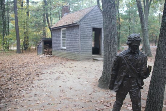 Walden Pond State Reservation: Recreated Thoreau's Cabin