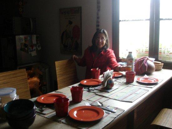 Casa Nuestra Peru B&B : desayunador