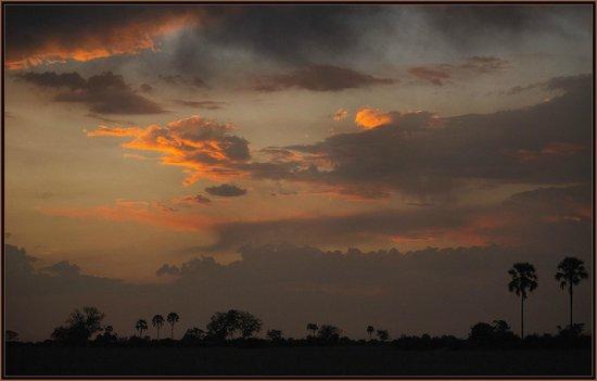 Sunset near Kwetsani Camp