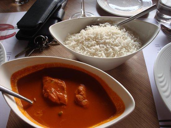 Rice Goan Fish Curry Bild Von The Fisherman S Wharf Bangalore