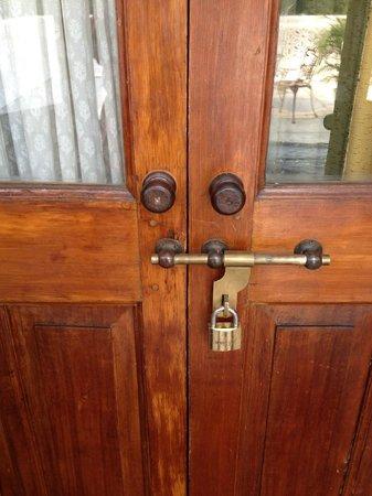 Neemrana's - Baradari Palace: my door on the patio