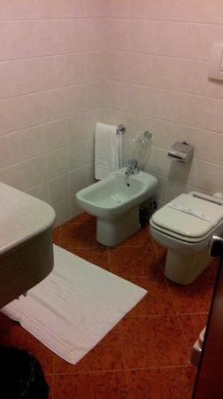Hotel Plaza Padova: bagno