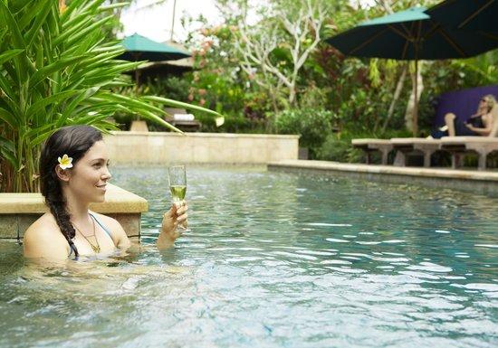 Umajati Retreat: the pool!