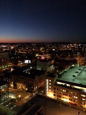 Hilton Knoxville : view over Knoxville