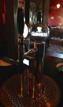 McMullan's Irish Pub: A Beer tap at your table