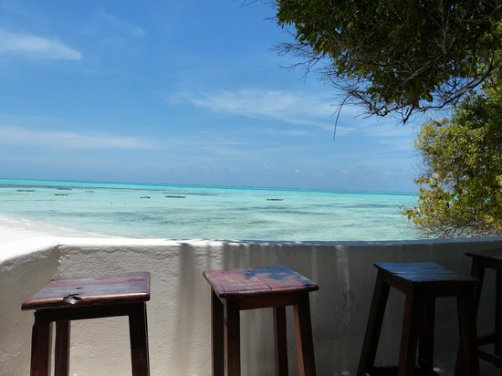 Red Monkey Beach Lodge: vue incroyable