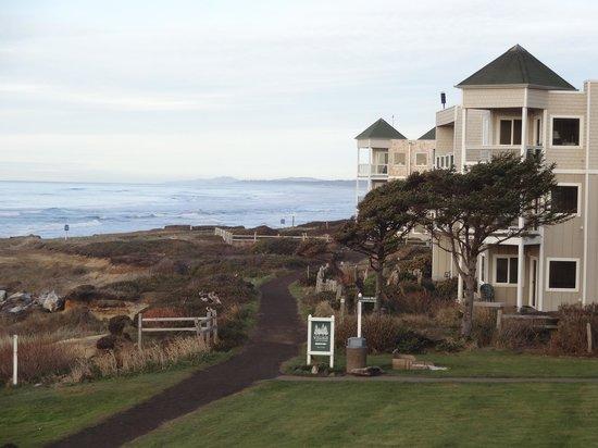 Overleaf Lodge & Spa: beautiful coastline