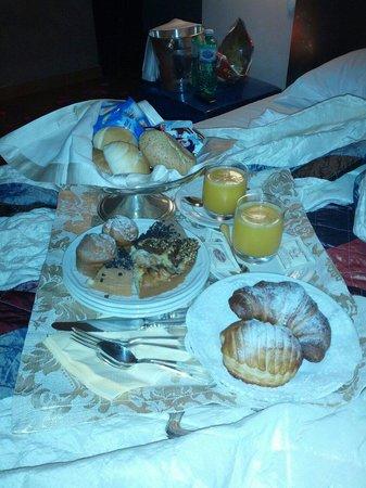 San Tommaso: Colazione a letto