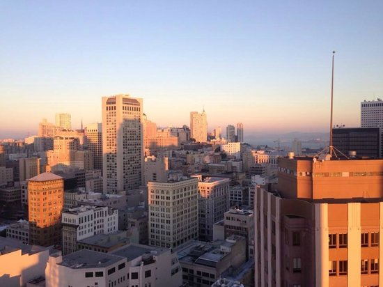 Park Central Hotel San Francisco: View from my room #3224