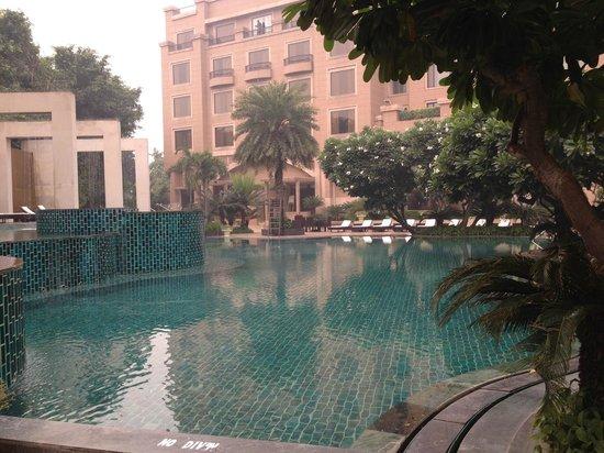 Radisson Blu Plaza Delhi Airport: Pool