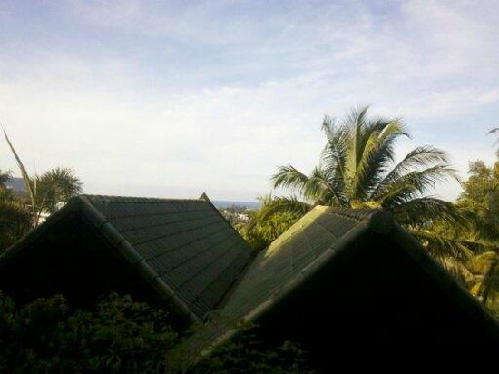 Boomerang Village Resort : vue de la chambre gauche