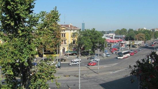 Belgrade City Hotel: Вид из номера