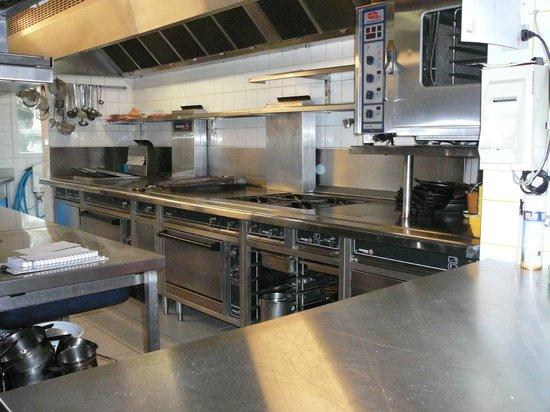 Hotellerie l'Epi d'Or: Les cuisines