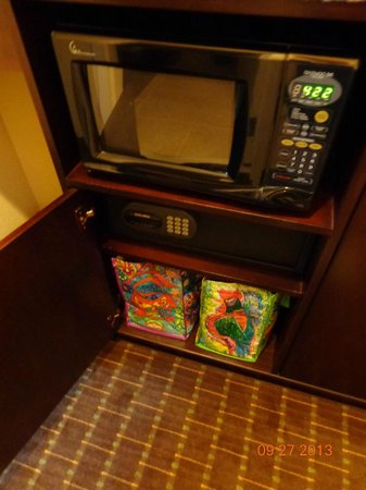 Embassy Suites by Hilton Orlando Lake Buena Vista South: Microwave and safe