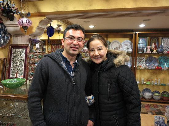 Heritage Nomadic Art Gallery: A Happy And Contented Customer With Mr. Ugur Karaca @ His Shop!!