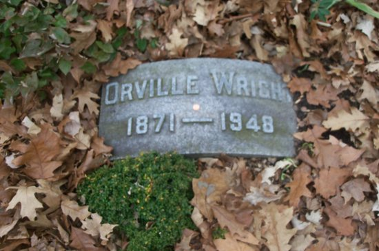 Woodland Cemetery & Arboretum: Orville Wright and my bright shiny penny