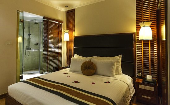 Hanoi Elite Hotel: Narrow room but very charming