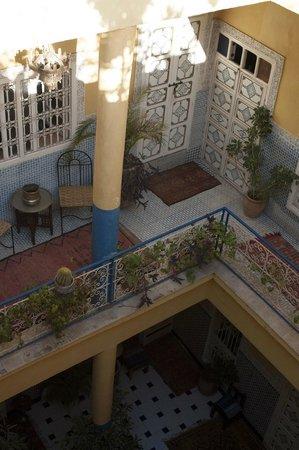 Hotel Sherazade: hof