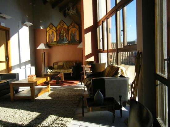 Hotel Palacio del Obispo: sala de lectura, atico
