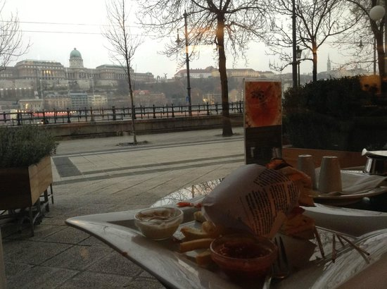 InterContinental Budapest: View from the lobby bar