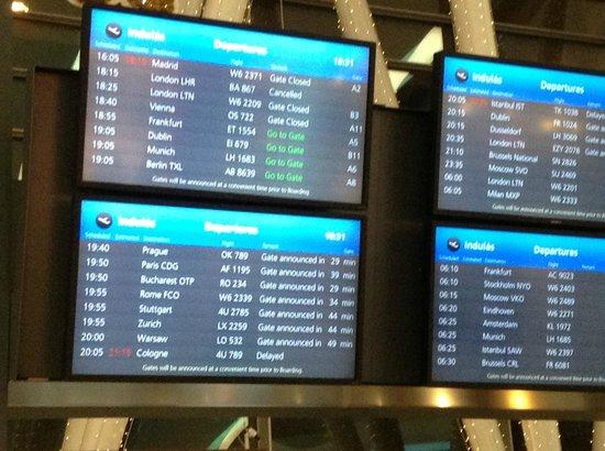 InterContinental Budapest: Flight cancelled