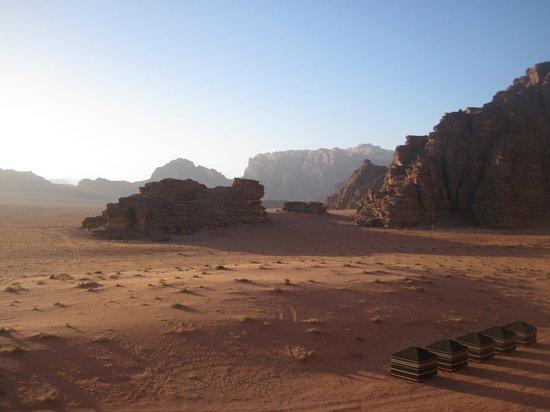 Wild Wadi Rum Camp: Incredible landscapes