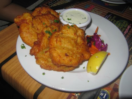 Pineapple Pete: conch fritters (4 for $9.95)