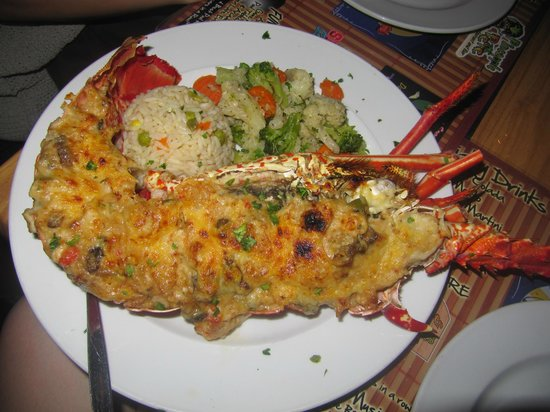 Pineapple Pete: Lobster Thermidor $39 on 10/2013
