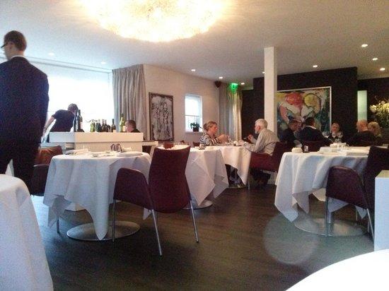 Restaurant de Lindehof: uitzicht vanaf onze tafel