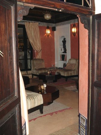 Riad Maison Bleue: Riad Lounge